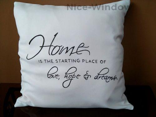 poduszki dekoracyjne z napisami - Szukaj w Google