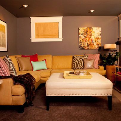 17 best images about small basement ideas on pinterest for Small basement pictures