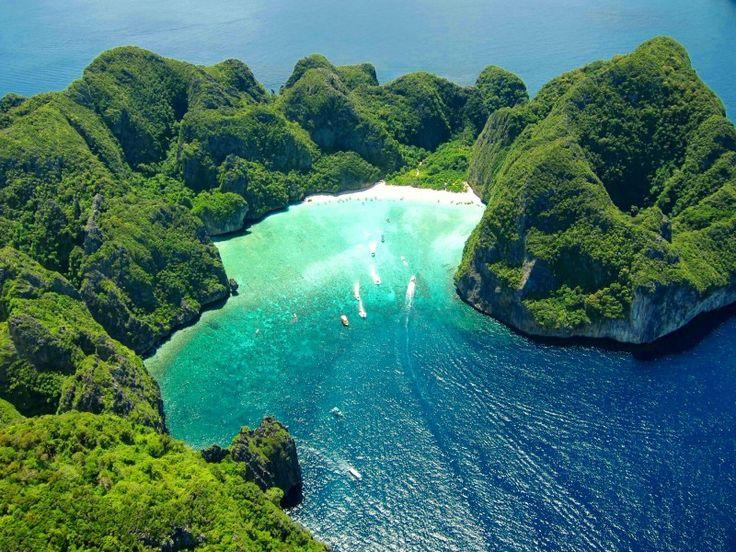 "Koh Phi Phi Leh (beach from ""The Beach"" - Maya Bay), Thailand"