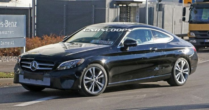 2018 Mercedes C-Class Coupe Next In Line For A Visit To The Plastic Surgeon #Mercedes #Mercedes_C_Class