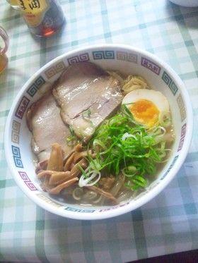 角煮の茹で汁でラーメンスープ by miki♪^^ [クックパッド] 簡単 ...