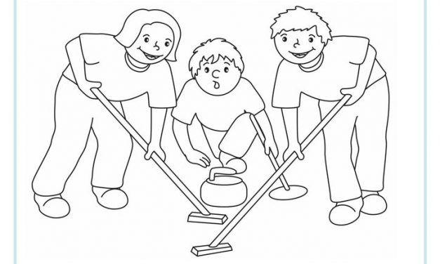 Kolorowanki Sporty Zimowe Do Druku Dla Dzieci Malowanki Sportowe