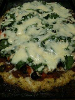 Cydney Buckman's Escalated Marketing: Awesome Paleo Cauliflower Pizza Crust
