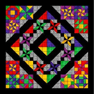 Planet Patchwork Block of the Month 2008-09