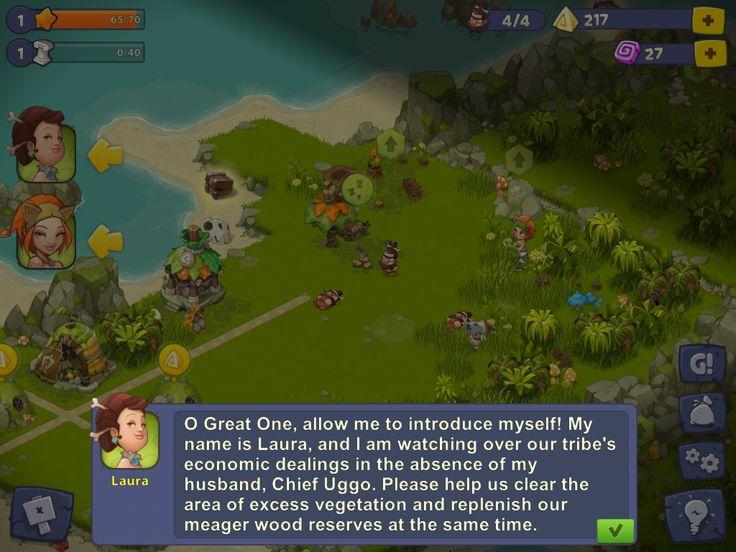 Adventure Era | Gameplay Cutscene | UI HUD User Interface Game Art GUI iOS Apps Games | www.girlvsgui.com