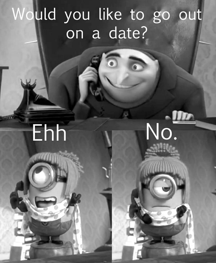 This is one of our favorite parts. Gru practices calling Lucy to ask her out on a date. Despicable Me 2.