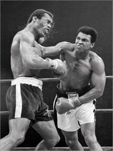 Muhammad Ali vs Ken Norton  yo venciendo mis malos habitos Los malos hábitos son como una cama calentita en un día frío: entrar no cuesta nada; lo que cuesta es salir.