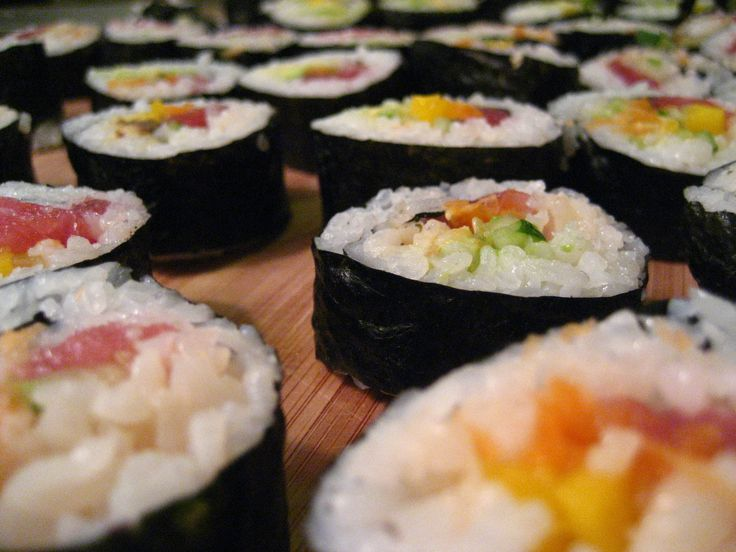 Seaweed is touted for its huge range of minerals. Sushi is an easy way to eat this superfood.   HuffPost Healthy Living