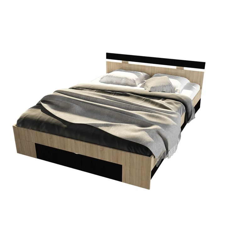 Dedeman Pat dormitor Raul dublu, cu sertar, bardolino+magia 140 x 200 cm 3C - Dedicat planurilor tale
