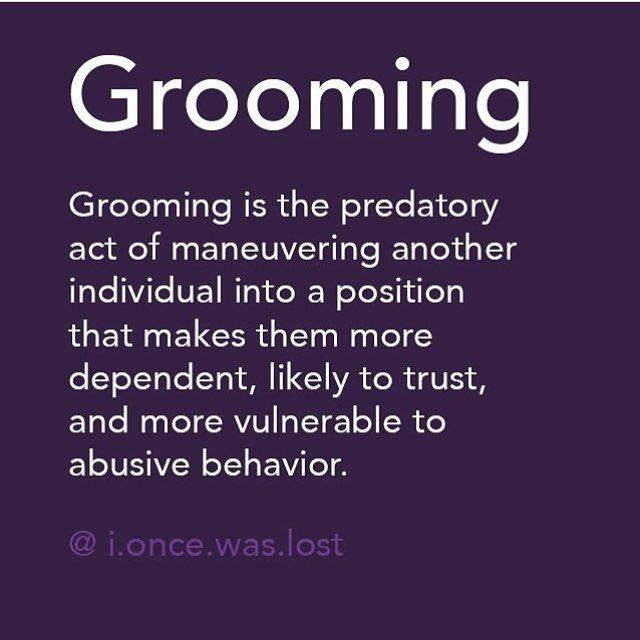Grooming tactics