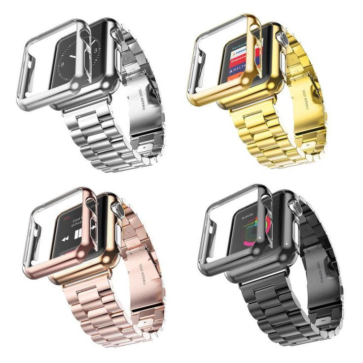 38mm 42mm Stainless Steel Gold Plated Watch Bands for Apple iWatch     Tag a friend who would love this!     FREE Shipping Worldwide | Brunei's largest e-commerce site.    Get it here ---> https://mybruneistore.com/38mm-42mm-3-points-stainless-steel-strap-gold-plated-protective-case-cover-watch-bands-for-apple-watch-iwatch-watchband/