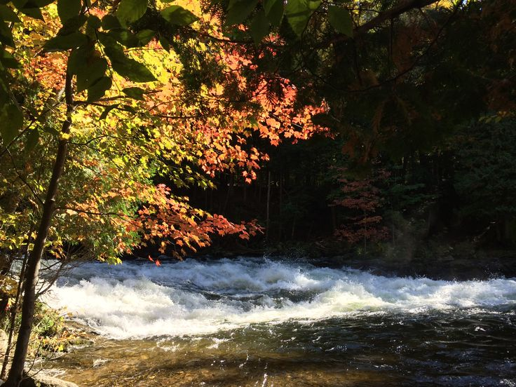 Wild rapids at the Minden Wild Water Preserve - Site of the 2015 Pan American Games canoe slalom events