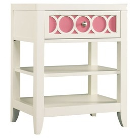This nightstand could honestly follow a little girl from for Little girls nightstand