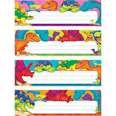 Dino-mite Pals Variety   Classroom Labels