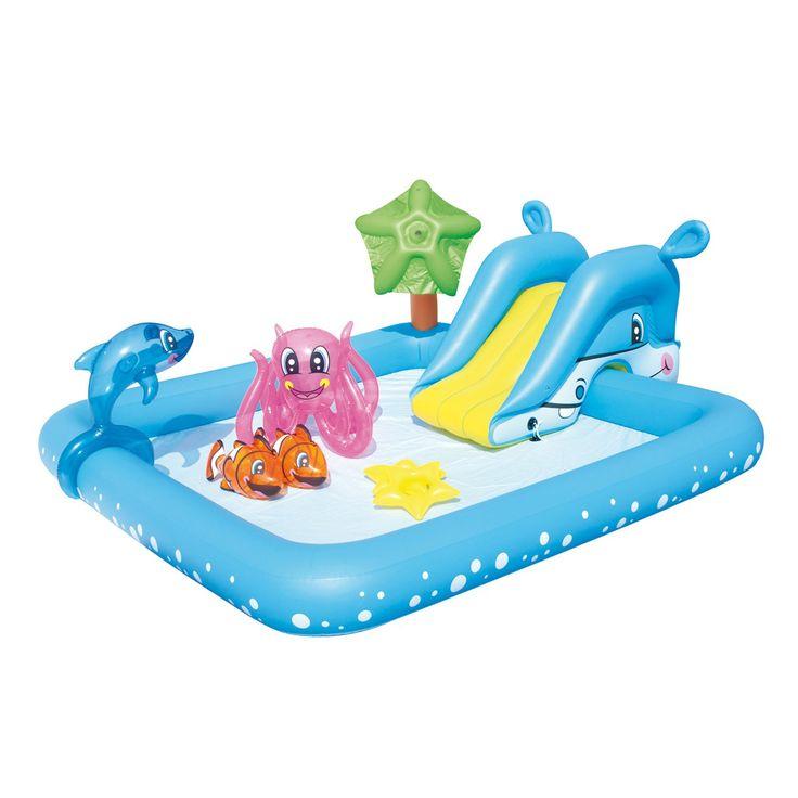 Piscina hinchable 239x206x86cm infantil Fantastic Aquarium Bestway #pincinasinfantiles #pincinashinchables