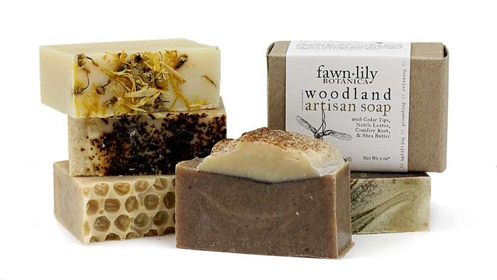 New botanical soaps and lip balms from Fawn Lily Botanica!