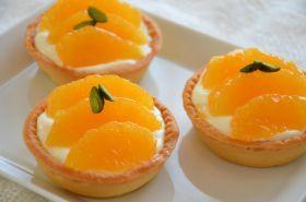 「オレンジとチーズのタルトレット」ちひろ | お菓子・パンのレシピや作り方【corecle*コレクル】