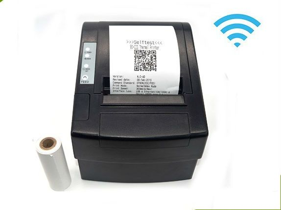 110.92$  Know more - http://aiyxh.worlditems.win/all/product.php?id=873261169 - Wirelss POS Thermal receiptprinter 80mm USB+Wifi printer Auto Cutter  for kitchen pos printer