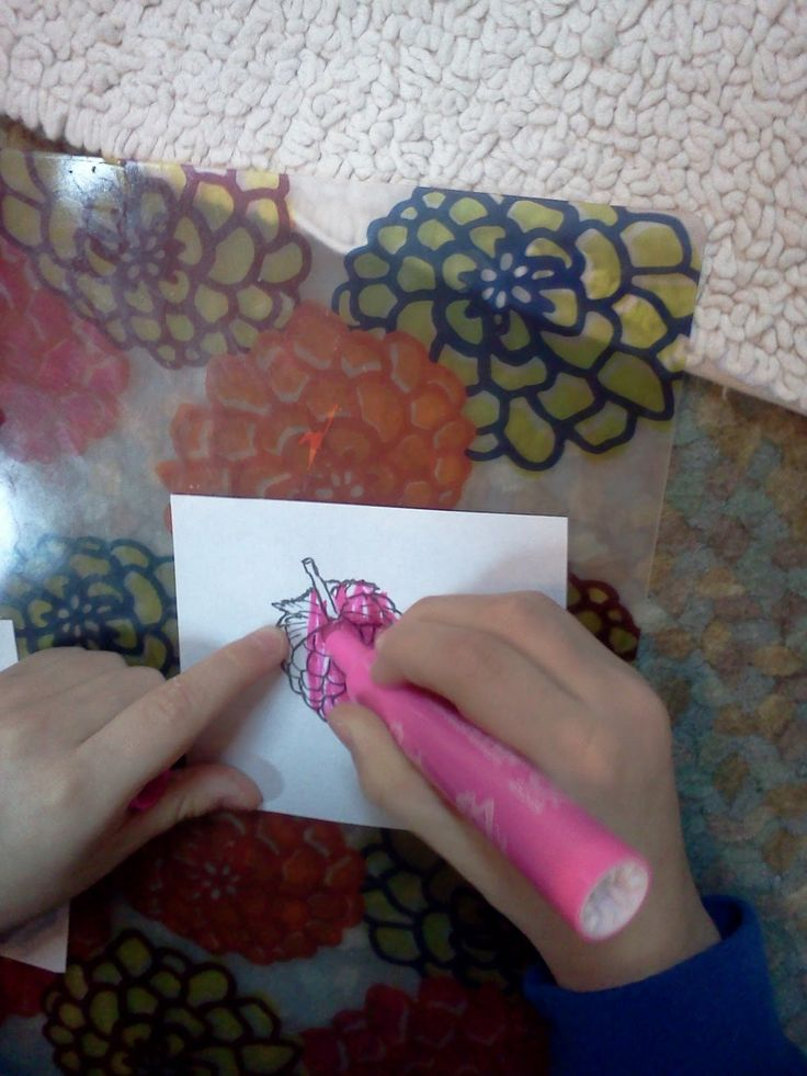 Montessori Design: Sense of smell Mr. Sketch marker work!