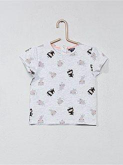 Niña 0-36 meses - Camiseta con estampado de fantasía - Kiabi  a1a8f7062172
