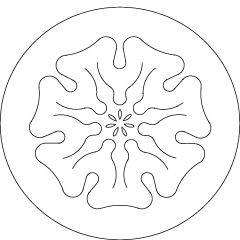 Rhythm ~ Sunday: Sun ~ The seven planetary seals are images drawn by Rudolf Steiner