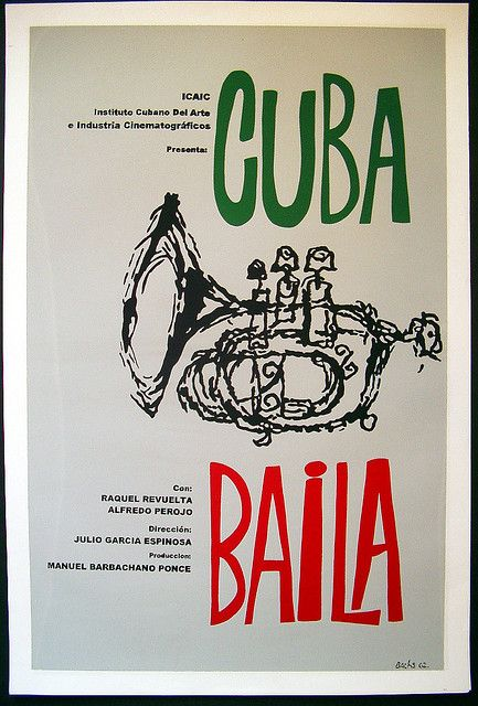 vintage everyday: 1960s Cuban Film Posters