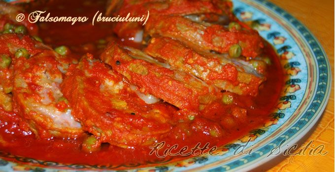 "Nella cucina siciliana, ""u bruciuluni"" (falsomagro) è un classico da far leccare…"