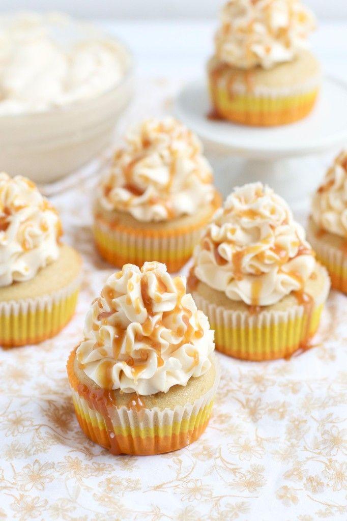Recipe; Ultimate Salted Caramel Cupcakes