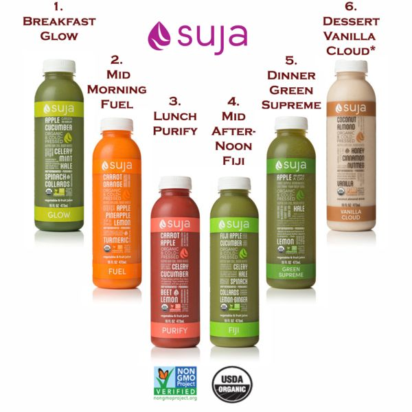Suja One and Three Day Fresh Start