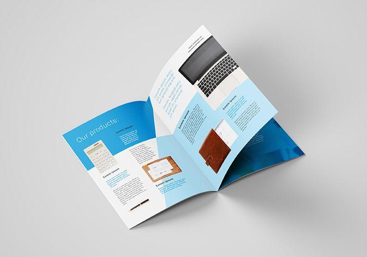 Free A4 Brochure Mockup Mockups Design Brochures Mockups Business Cards Diy Templates Brochure