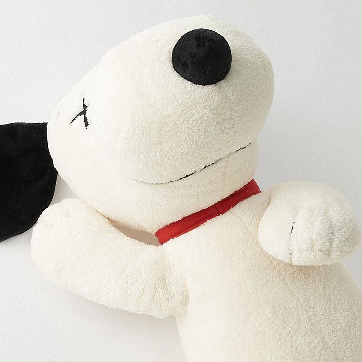 Excited to share the latest addition to my #etsy shop: Kaws x Peanuts x Uniqlo White Snoopy Plush Toy (MEDIUM) LIMITED EDITION http://etsy.me/2CCcC7Z #toys #white #kaws #plush #toy #uniqlo #rare #artwork #teddybear