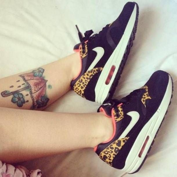 Leopard Print Nikes, Leopard Print Nike Air MaxesYay or Nay? Comment Below
