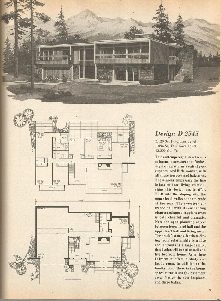 2632 best mid century modern images on pinterest floor for Mid century modern blueprints