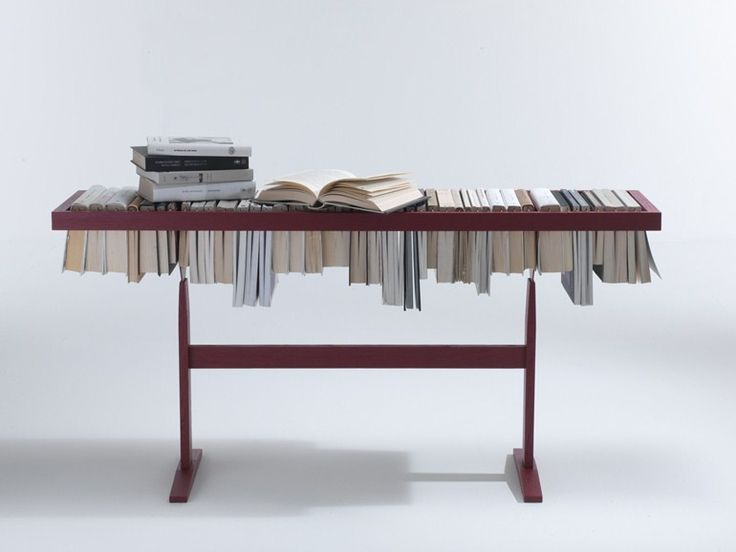 Libreria / tavolino BOOKEN by Lema | design Raw Edges