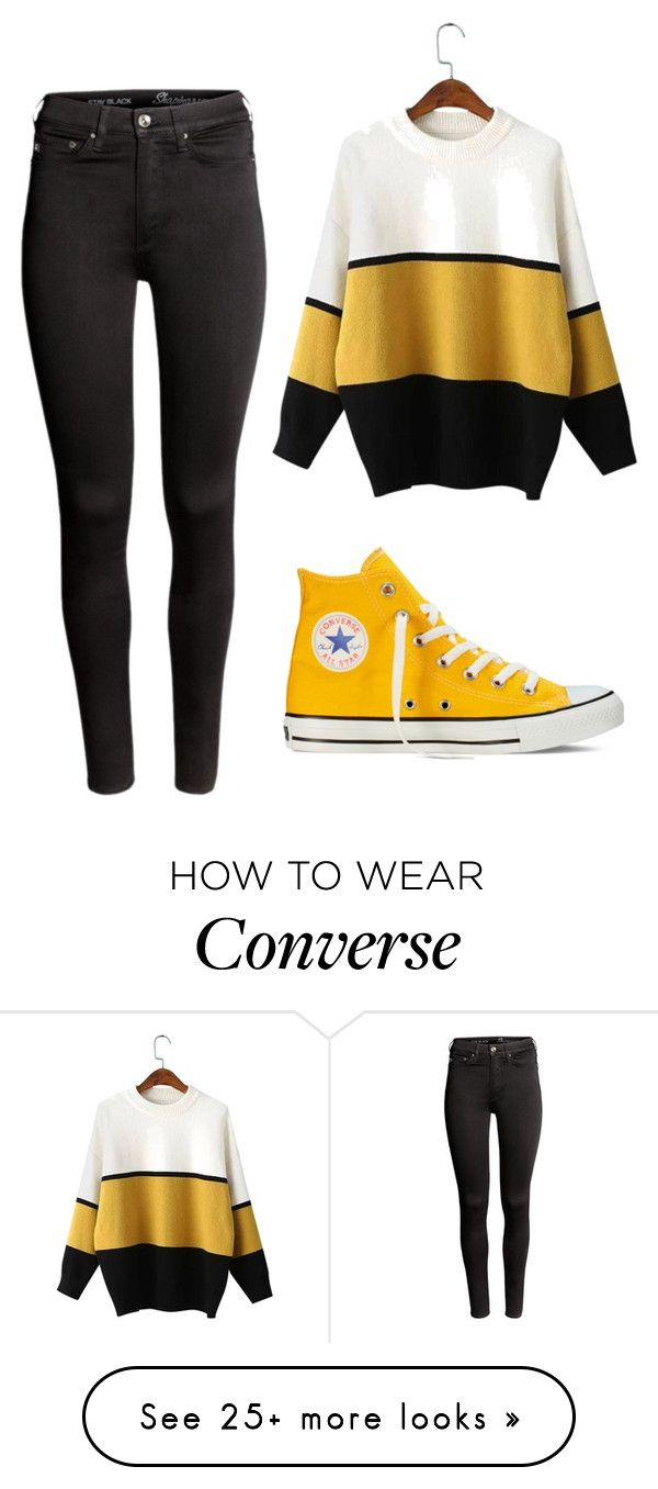 """""""Forgotten."""" by clea69 on Polyvore featuring H&M and Converse"""