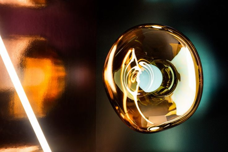 "Tom Dixon explores ""futuristic optics"" with lighting launches in Milan"