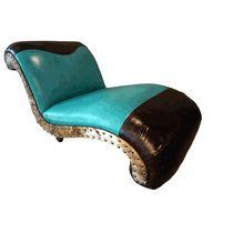 Albuquerque Turquoise Chaise Lounge