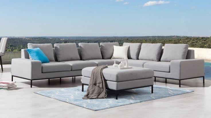 June Outdoor L Shape Lounge | Lavita Furniture