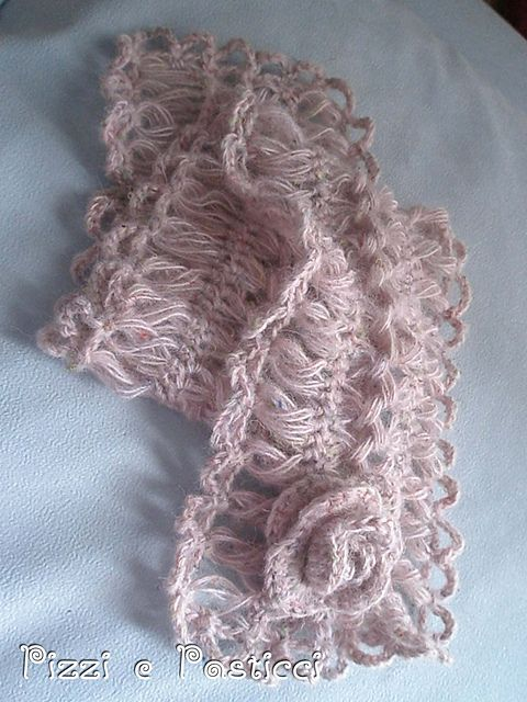 hairpin lace - looks like I'm going to have to learn how to do this