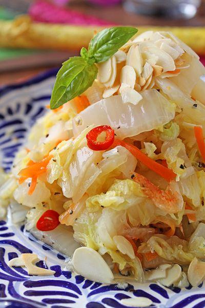 白菜がモリモリ食べられる!黄金比率でエスニック白菜と人参のお浸