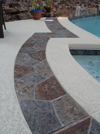 Check out Sacramento's CA decorative contractor- Sierra Concrete Resurfacing Pool Decks gallery. Call us today at (916) 631-9666 for more info.