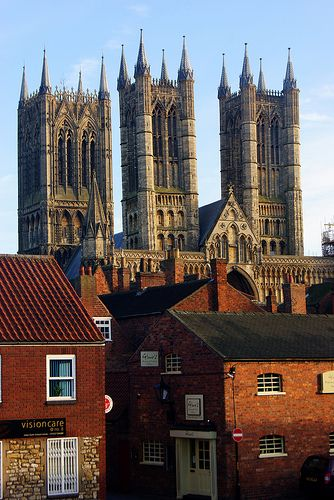 Lincoln Cathedral., England