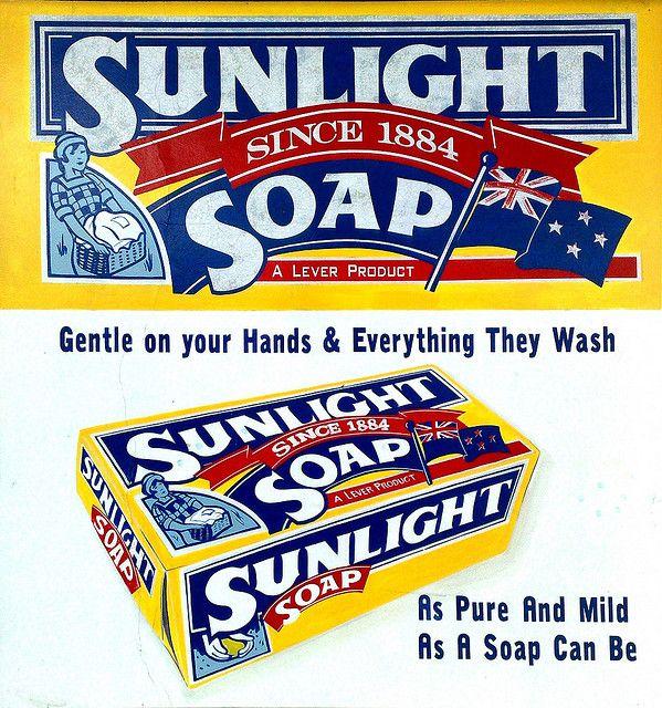vintage sunlight detergent | Sunlight soap