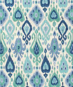 Richloom Django Turquoise Fabric - $17.8 | onlinefabricstore.net