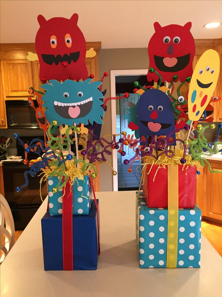 Little monster birthday party