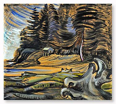 "Emily Carr - "" On the Edge of Nowhere"" - Art Gallery of Greater Victoria"