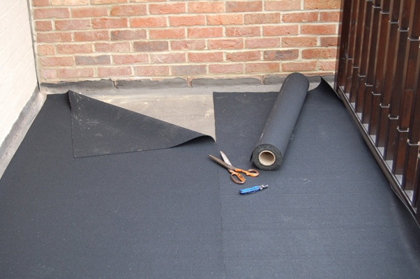 Underlay For Decking Tiles High Density Rubber Underlay