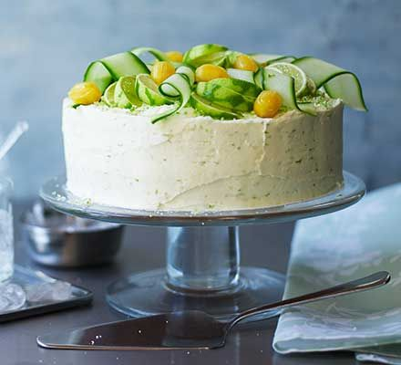 Fan of gin & tonic? What could be better than your favourite tipple in cake form? A fabulous showstopper for afternoon tea or a summer celebration