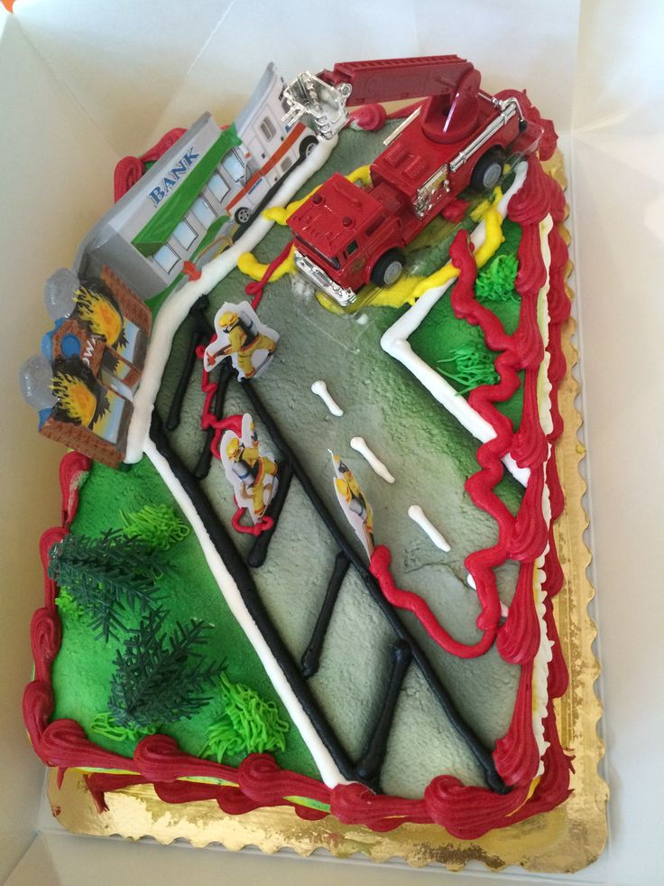 Firefighter Cake Publix
