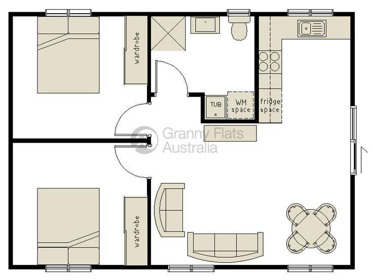 30 best casita plans images on pinterest cottage my house and arquitetura. Black Bedroom Furniture Sets. Home Design Ideas